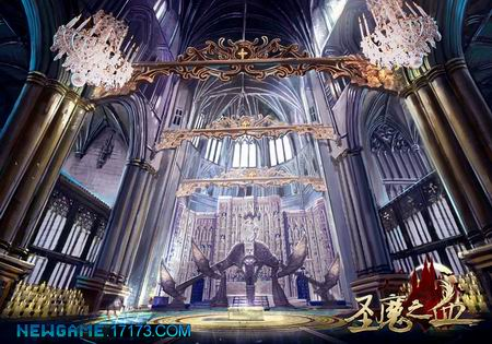 圣魔之血游戏原画图片