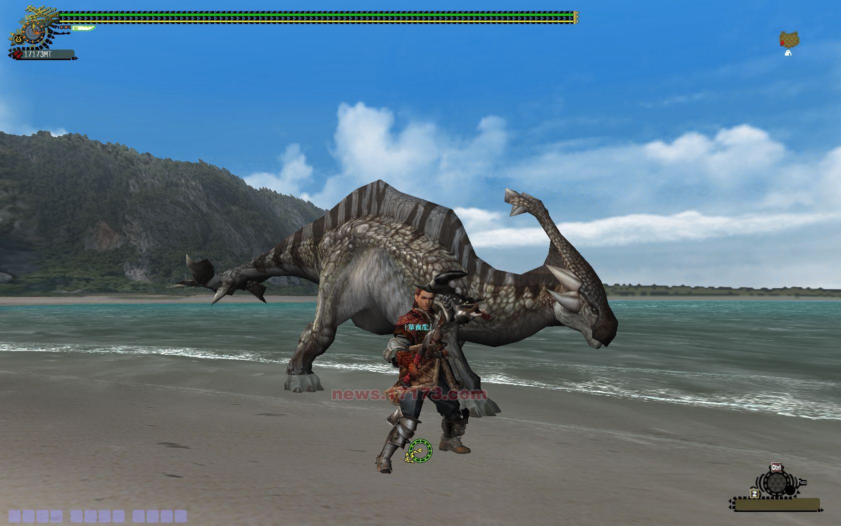 �����olzg>K��{�~x�_十一种武器 怪物猎人ol游戏高清截图展示