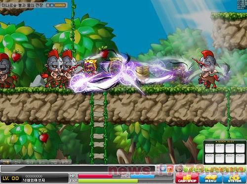 韩服《冒险岛》此次更新,将分3次更新到游戏中.