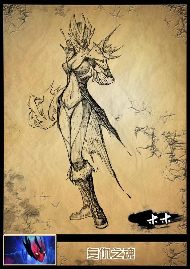 玩家很有爱《dota2》英雄精美手绘图合集