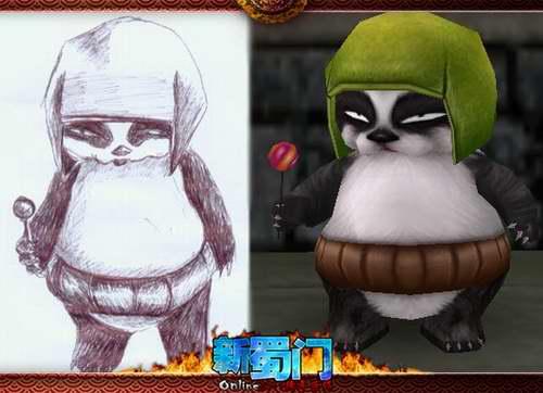 你看,玩家朋友画的多像,连小动物的表情都画出了个性,给予了它们新的