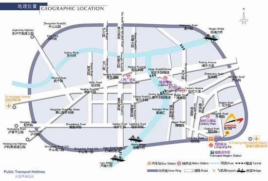 2011Chinajoy展馆交通图