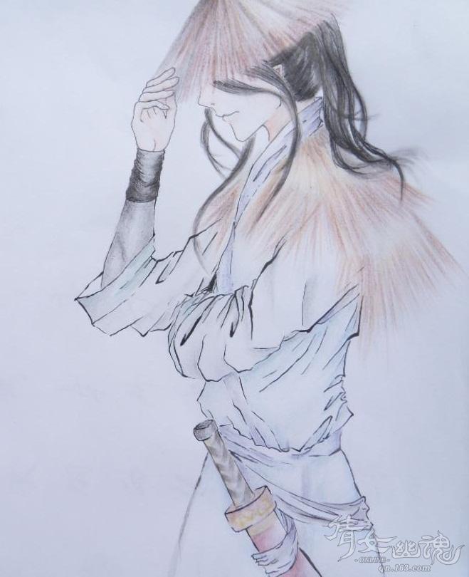 彩铅衣服的画法步骤图