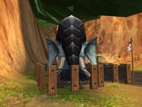 被捕捉的盾神巨象