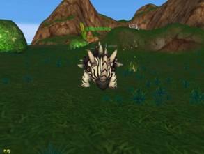 坚硬的怒斑犀牛