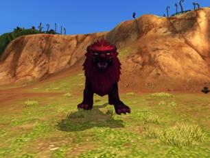巨型暗影血鬃狮