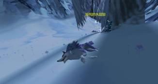 濒死的水晶狼