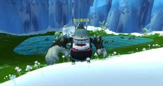 雪山温泉猴