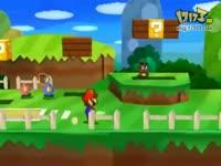 3DS《纸片马里奥》TGS2011宣传视频