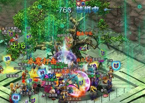 世界之树守卫战《英雄王座》公会副本精彩呈现