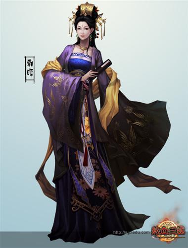 甄洛不仅是传誉千古的一代皇后,而且是中国古代文学史上第一位女诗人.