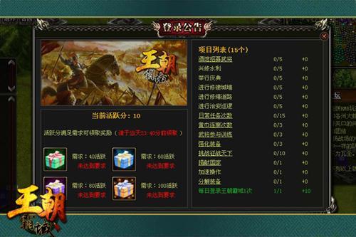 《王朝霸域》腾讯轻国战三国策略网页游戏