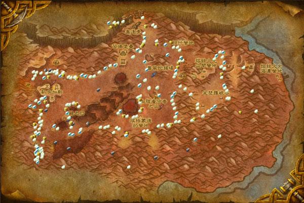 灼热峡谷,荒芜之地,燃烧平原
