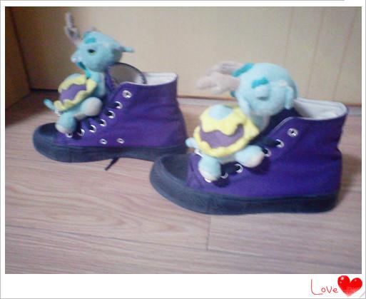 梦幻西游很萌很可爱 玩家自制龙龟鞋子