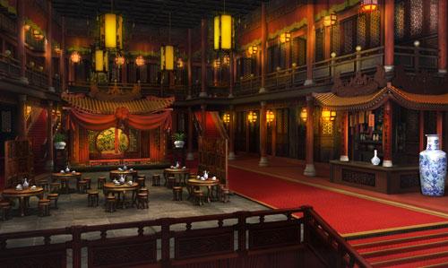 武林3室内场景