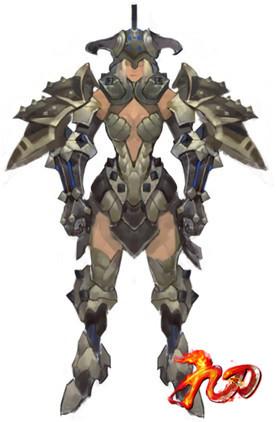 狂血套装的设计以古罗马角斗士为原型