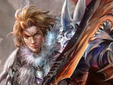 2D魔幻游戏苍穹之怒 游戏宣传海报