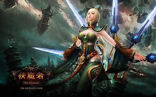 伏魔者:精美壁纸-女剑仙