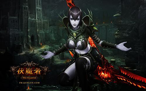 伏魔者:精美壁纸-女巫师