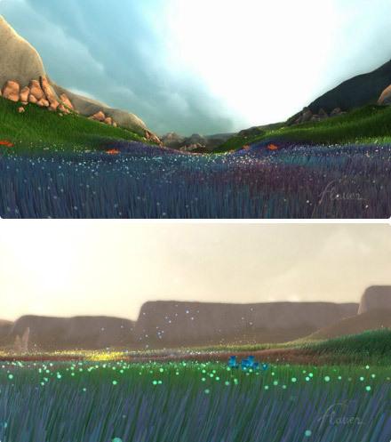 PS3游戏《Flower》画面