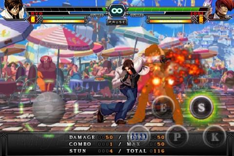 经典格斗《拳皇2012》iOS版上架:可联机对战
