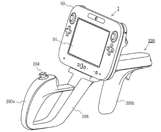 任天堂创意无限 新Wii U外设披露