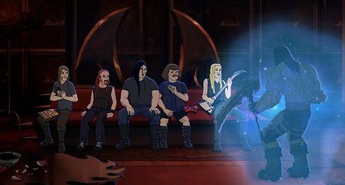 《暗黑血统2》死骑将乱入周末夜现场 面罩成笑柄?