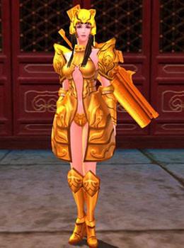 十二生肖黄金圣衣展示