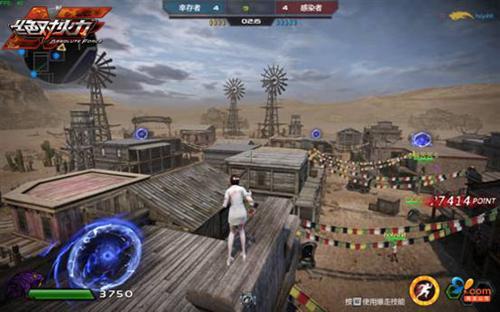 生化模式 新地图《绝对火力》西部大战僵尸_网络游戏