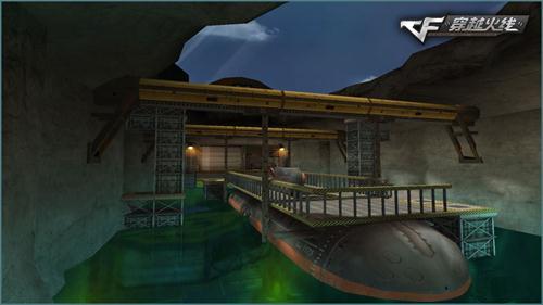 地图潜艇平面图