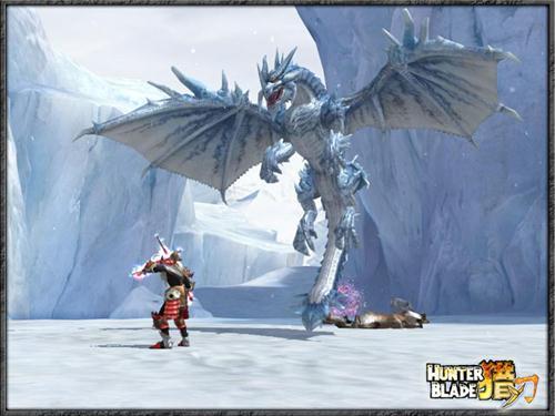 冰山王者来袭《猎刃》高玩传授冰龙打法