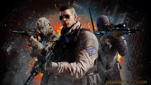 精英部队游戏海报