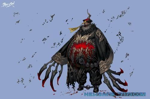 剑灵怪物原画