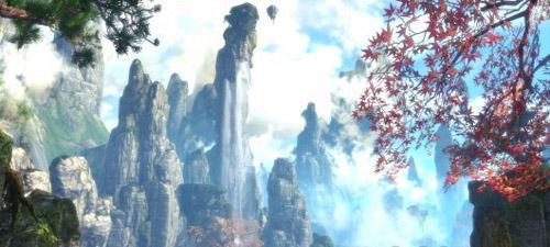 剑灵东方场景宛若飘渺仙境 复刻张家界实景