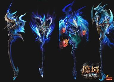 2012《魔域》最新职业亡灵亮相chinajoy
