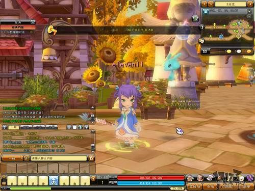 观察游戏画面,发现还是保留了《梦幻龙族》中萌系可爱卡通的人物形象