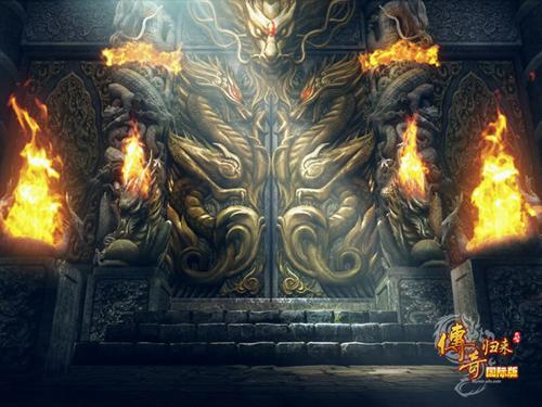 神殿可以说常有吸引力的一个地图