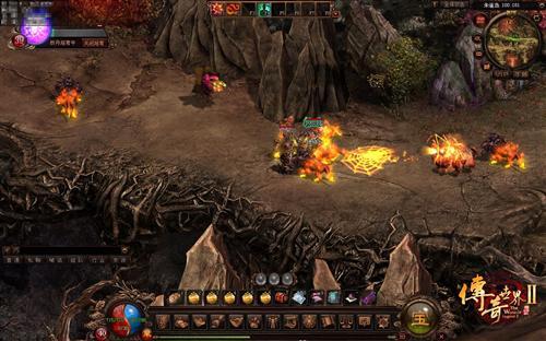 传奇世界2》四职业在PK战中的