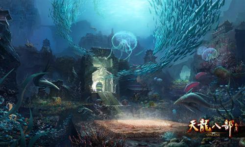 天ㄨ龙八部发布海底地图 21日满级
