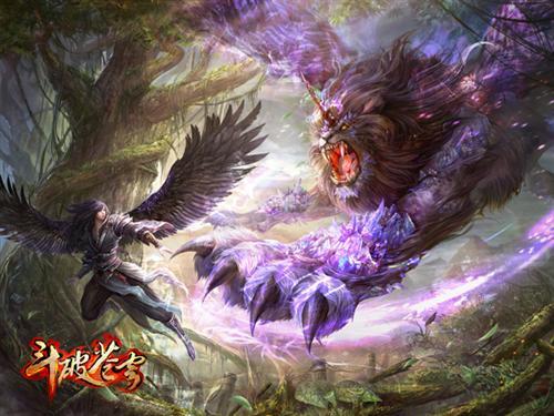 细数 斗破苍穹 经典设定 游戏原画欣赏