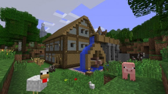 《minecraft》xbox360版销售量破400万