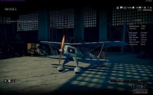 游戏还对已解锁的飞机提供了试飞服务