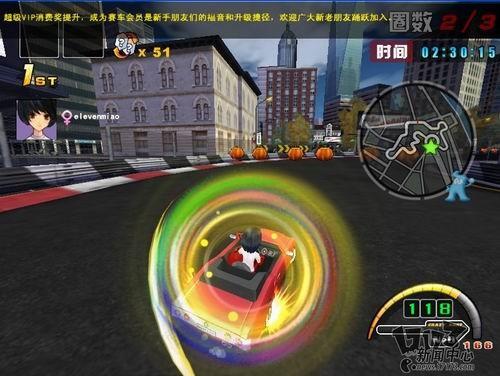 盛大3D休闲赛车网游 疯狂赛车 试玩体验