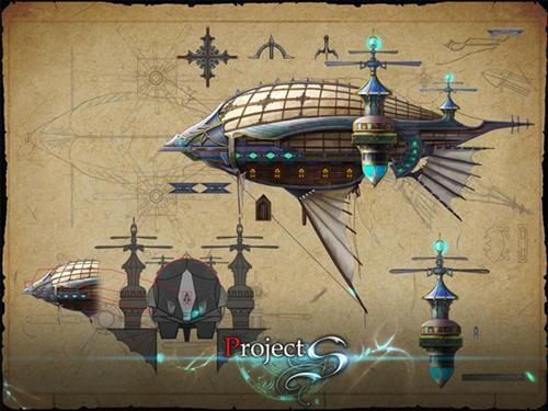 蒸汽科技时代的皇家飞艇