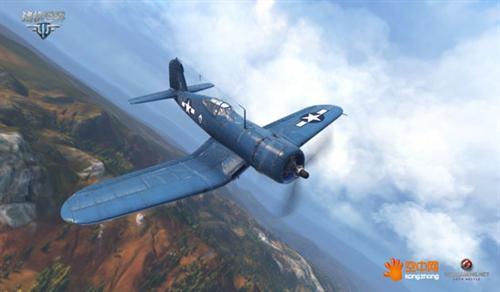 """""""海盗""""打飞机 《战机世界》f4u战斗机"""
