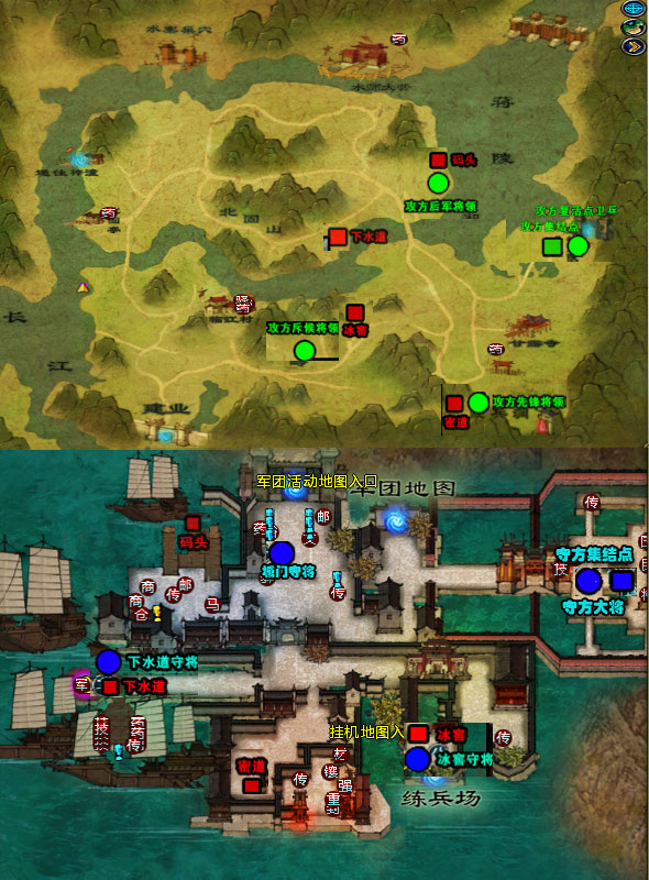 slg地图的加入,让mmo游戏的玩法更加多样,游戏内容更加丰富.