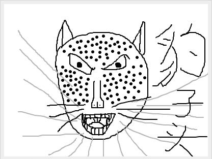 豹子头林冲手绘图