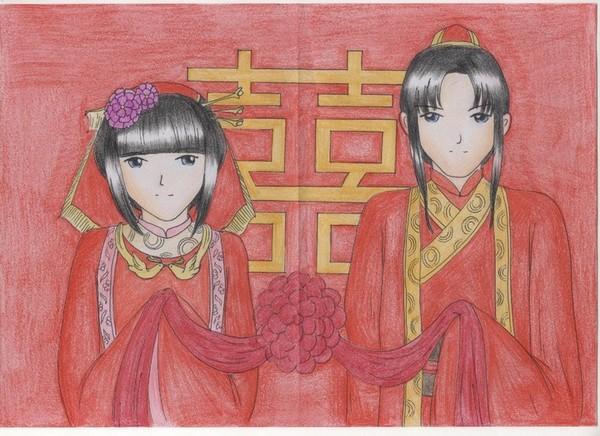 轩迷:上官画兰原创素颜手绘图欣赏(多图)