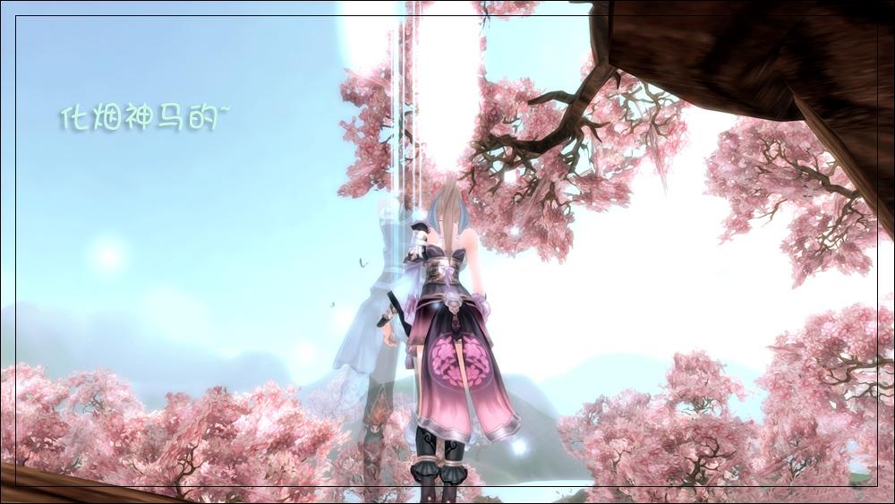 天下3截图展示 美丽的妹子大腿与风景