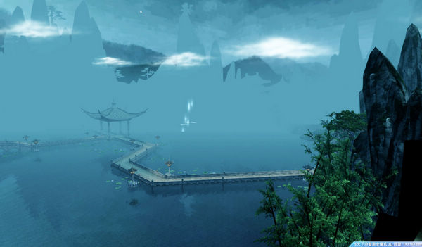 天下3副本美景欣赏; 【梦之弈剑听雨阁】风景,每天下经验本有好好欣赏